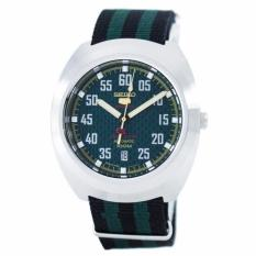 Price Comparisons For Seiko 5 Sports Limited Edition Automatic Japan Made Men S Black Green Nylon Strap Watch Srpa89J1