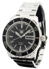 Review Seiko 5 Sports Men S Silver Stainless Steel Strap Watch Snzh55J1 On Singapore