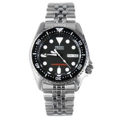 Best Rated Seiko Skx013K2 Scuba Diver Jubilee Men Analog Stainless Steel Sport Black Watch