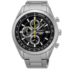 Seiko Chronograph Mens Stainless Steel Watch Ssb175p1 By Watchspree.