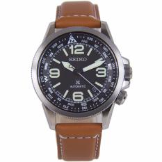 Promo Seiko Japan Prospex Automatic Brown Leather Watch Srpa75J1 Srpa75