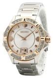 Store Seiko Lord Quartz Crystals White Dial Women S Two Tone Stainless Steel Strap Watch Sur804P1 Seiko On Singapore