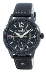 Sale Seiko Presage Automatic Power Reserve Japan Made Men S Black Leather Strap Watch Ssa339J1 Seiko Wholesaler