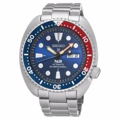 Seiko Prospex and PADI Air Diver Special Edition Stainless Steel Watch SRPA21K1