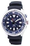 Who Sells Luxury Watch Seiko Prospex Kinetic Gmt Divers Padi Edition Men S Black Silicone Strap Watch Sun065P1 Cheap