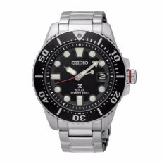 Seiko Prospex Solar Air Diver Special Edition Silver Stainless Steel Band Watch SNE437P1