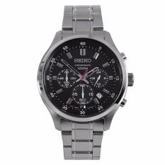 Discount Seiko Quartz Chronograph Silver Stainless Steel Bracelet Watch Sks587P1 Sks587