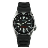 Cheapest Seiko Skx013K1 Black Dial Analog Automatic Day And Date Black Rubber Strap Watch