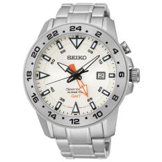 Seiko Sun025p1 Kinetic Gmt For Men By Seiko Official Store.