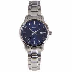Compare Seiko Sur749P1 Sur749 Analog Stainless Steel Strap Quartz Watch Blue