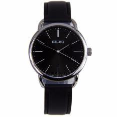 Seiko Womens SUR233 SUR233P1 Black Dial Quartz Analog Watch