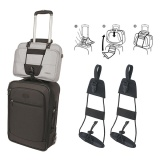 Buy Set Of 2 Bag Bungee Travel Luggage Suitcase Adjustable Belt Add A Bag Strap Carry On Bungee Travel Bag Bungee Cords Elastic Hold Intl Oem Online