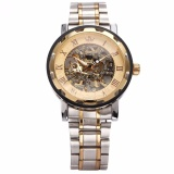 Purchase Sewor New Men Classic Transparent Steampunk Skeleton Mechanical Stainless Steel Watch Pmw223 Intl
