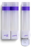 Price Shapl Shower Bottle For Travel Sports Violet 3 Piece Set Oem Original