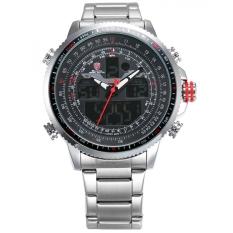 Buy Shark Men S Sport Digital Analog Quartz Day Date Display Alarm Stainless Steel Wrist Watch Sh325 Shark Sport Watch Original