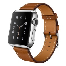 Retail Price Single Tour Genuine Leather Band Bracelet Watchband For Apple Watch 42Mm Bw Intl