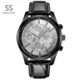 Buy Sisyphus Stone 100 Authentic 2017 Fashion Top Brand Luxury Casual Business Men S Metal Wrist Watch For Men Multi Function Wristwatch Sport Quartz Skeleton Watches Black Intl Online