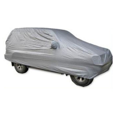 For Sale Size L 4 85 X 1 9 X 1 85 Suv Water Resistant Dust Proof Anti Scratching Resist Snow Car Cover Silver