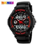 Price Compare Skmei 1016 Resin Strap Waterproof Fashion Casual Business Sport Men Male Digital Quartz Wrist Watch Black With White Circle Mzc6R Color C6 Intl
