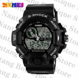 Who Sells Singapore Special Offer Skmei 1029 G Style Quartz Digital Dual Time Men Sport Wristwatch Watch Black The Cheapest