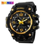 Sale Skmei 1155 Fashion Men Digital Led Display Sport Watches Quartz Watch 50M Waterproof Dual Display Wristwatches Intl On China
