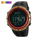 Compare Skmei 1250 Men Smart Watch Bluetooth Pedometer Calories Chronograph Fashion Outdoor Sport Backlight Waterproof Man Wristwatches Gold Red Intl Prices