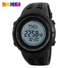Where Can I Buy Skmei 1254 Outdoor Sports Compass Electronic Watch Black Intl