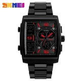 Coupon Skmei 1274 Men S Electronic Watch Multi Function Outdoor Sports Electronic Watches Red Intl