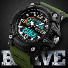Compare Price Skmei 1283 Sports Watches Men Fashion Multi Function Chronograph Digital Quartz Dual Display Waterproof Wristwatches On China