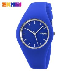 Discounted Skmei 9068 Women Fashion Casual Quartz Watches Silicone Strap Sport Watches Intl
