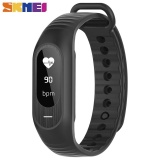 Skmei B15P Fitness Sports Bluetooth Led Waterproof Bracelet Watch Digital Blood Pressure Heart Rate Monitor Health Intelligent Monitoring Wrist Watch Black Intl On China