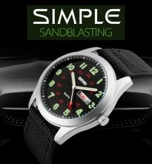 Discount Skmei Brand Watch Men Nylon Strap Men Army Military Wristwatches Clock Male Quartz Watch Relogio Masculino9112 Intl Skmei On China