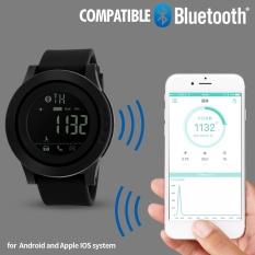 Discounted Skmei Brand Watch Men Women Smart Watch Calorie Pedometer Multi Functions Remote Camera Hours 50M Waterproof Digital Men S Smartwatch 1255 Intl