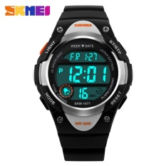 458d50d1543 SKMEI Brand Watch Outdoor Sports Kids Boy Girls LED Digital Alarm Stopwatch  Waterproof Wristwatch Children s Dress