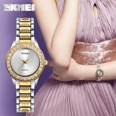 Purchase Skmei Brand Watch Women Fashion Watches Luxury Stainless Steel Strap Quartz Watch Ladies Waterproof Casual Wristwatches Relogio Feminino 1262 Intl Online