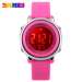 Buy Skmei Children Led Digital Watch Sports Watches Kids Cartoon Jelly Waterproof Children S Dress Wristwatches Rose Red China