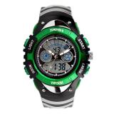 Skmei Children Watch Skmei Brand Dual Time Zone Digital Quartz Multifunction Wristwatch Waterproof Student Sports Kids Watches Green Price