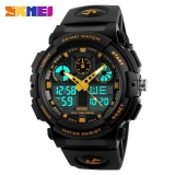 Sale Skmei Men Double Display Watch Sports Watch Digital Dual Time Meter 1270 Gold Intl China Cheap