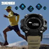 Coupon Skmei Men Smart Sports Watches Pedometer Heart Rate Calorie Bluetooth Camera Outdoor Watch Multifunction Sleeping Moitor Waterproof Wristwatch 1188 Intl