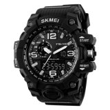 Skmei Men Watch Waterproof Solar Powered Watch Digital Dual Display Wristwatch Intl For Sale Online