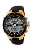 Skmei Men S Black Rubber Strap Watch 1016 Sale