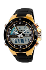 Buy Skmei Men S Black Rubber Strap Watch 1016 Skmei Original