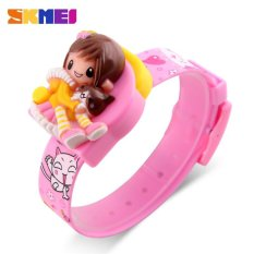 Sale Skmei New Fashion Children Cartoon Girls Digital Lovely Wristwatches 1240 Intl Skmei