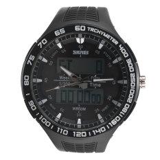 Top 10 Skmei New Waterproof Men S Analog Digital Led Rubber Military Wrist Sports Watch Export