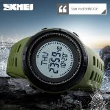 Where Can You Buy Skmei Top Brand Compass Watches 5Atm Waterproof Outdoor Sports Men S Digital Watch Countdown Wristwatches Male Clock 1254