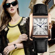 Review Skmei Watch 1085 Luxury Fashion Casual Quartz Watches Leather Sport Lady Relojes Mujer Women Wristwatches Dress G*rl 1085 Intl Skmei