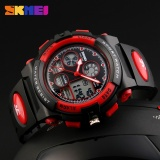 Skmei Watch 1163 Kids Sports Watches Children For Boys Waterproof Military Dual Display Wristwatches Led Waterproof Watch Intl Shopping