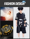 Wholesale Skmei Watch 1163 Kids Sports Watches Children For Boys Waterproof Military Dual Display Wristwatches Led Waterproof Watch Intl
