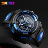 Sale Skmei Watch 1163 Sports Children Watches Kids For Boys Military Waterproof Wristwatches Dual Display Led Digital Quartz Watch Intl Skmei Branded