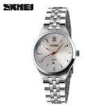 Skmei Women S Quartz Watch Fashion Casual Watches Full Steel Waterproof Wristwatches Rose Gold Intl Price